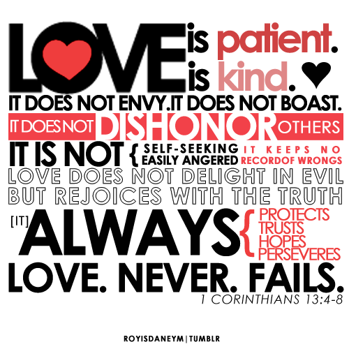 love is 1 Cor13
