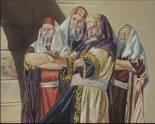 finger pointing_herzog_pharisees