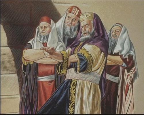 finger pointing_herzog_pharisees