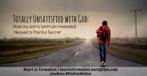 on-the-road-Prodigal Son- Heart in Formation - Totally Unsatisfied with God- How My Sons Tantrum revealed Heavens Painful Secret