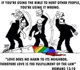 bible hating using verses to hate not love -lgbtq transgender all humans