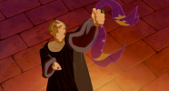 Remember Frollo? Another religious leader who lost his heart/mind/way...