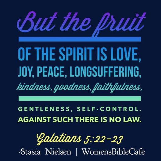 Fruit of the Spirit- against such there is No Law