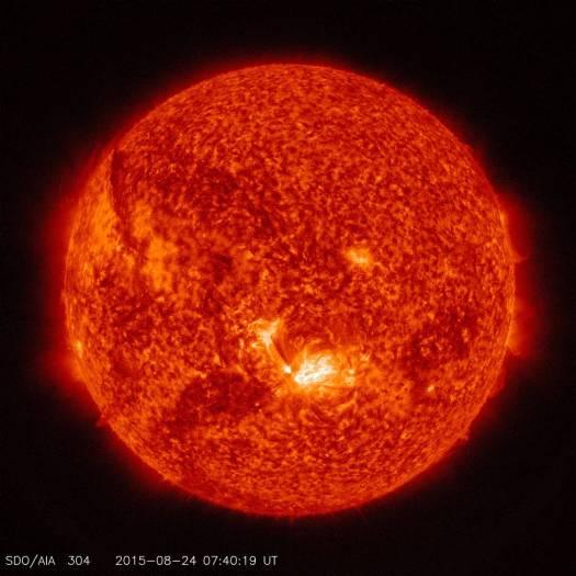 Sun Solar Flare-NASA