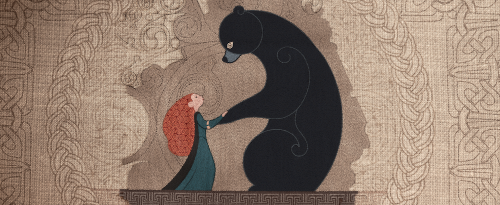 Image result for merida and the bear
