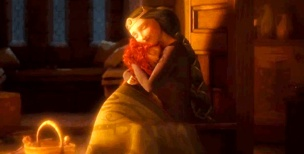 Brave Movie - Mother and Daugther Cuddle
