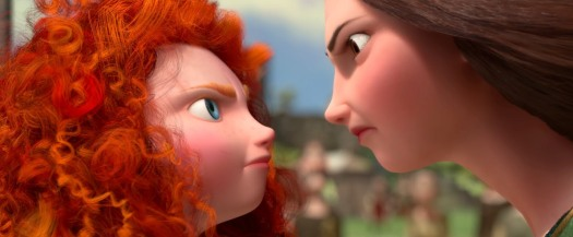 Brave-Movie Mother and Dauther Face Off