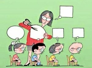teachers making kids conform