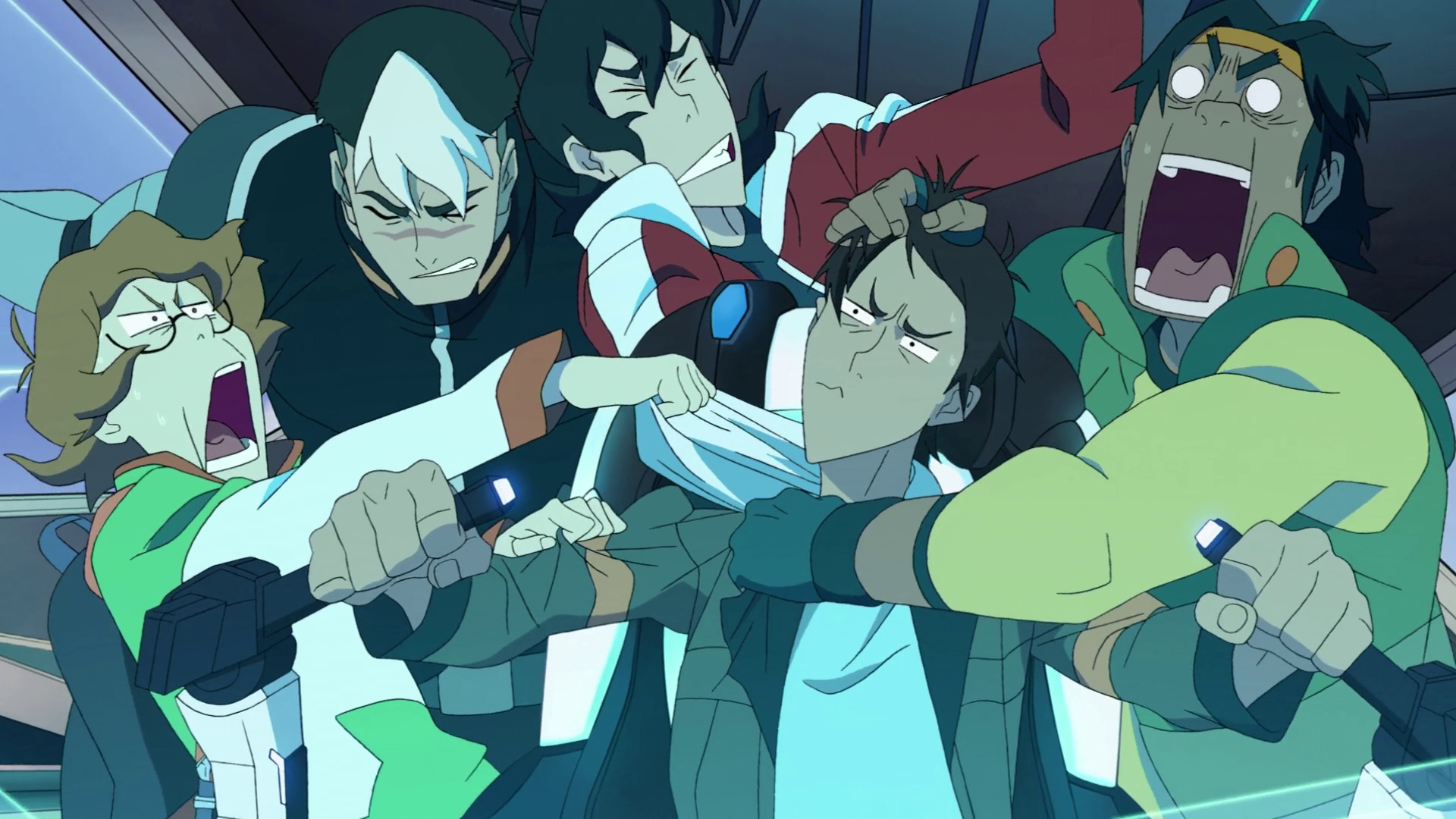 fighting family _Voltron _legendary defender